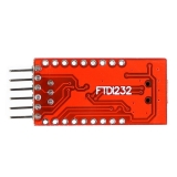 FT232RL USB to serial линия для Arduino, TTL/CMOS level, RXD / TXD индикатор, USB powered, 5V / 3.3V на выбор, miniUSB