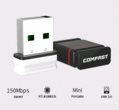 Мини WiFi адаптер  USB 150Mbps 802.11n/g/b wifi Adapter Comfast CF-WU810N Mini